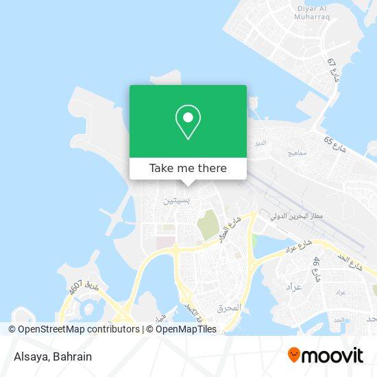 Alsaya map