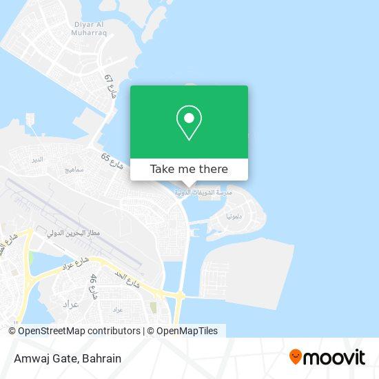 Amwaj Gate map