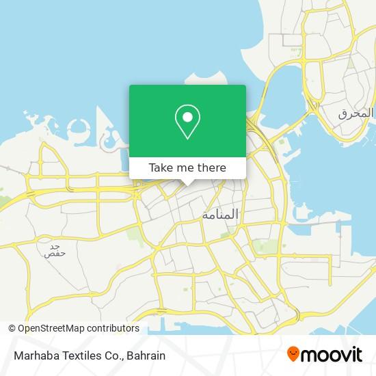 Marhaba Textiles Co. map