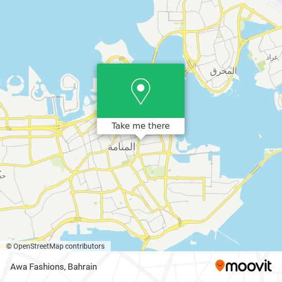 Awa Fashions map