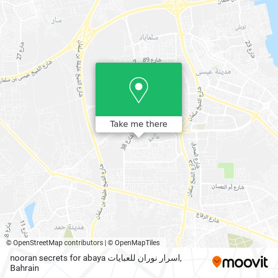 nooran secrets for abaya اسرار نوران للعبايات map