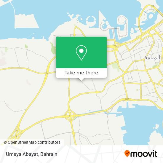 Umsya Abayat map