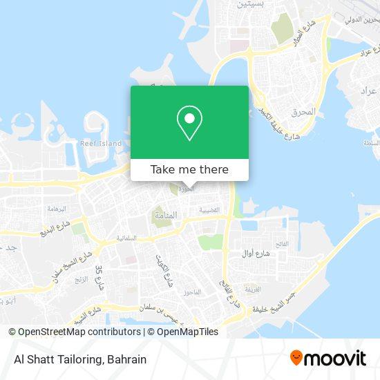 Al Shatt Tailoring map