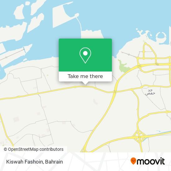 Kiswah Fashoin map