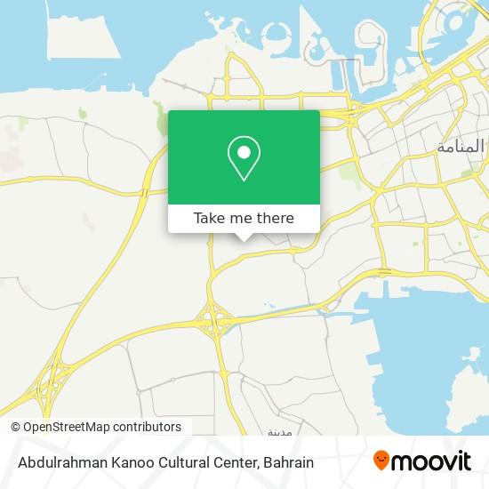 Abdulrahman Kanoo Cultural Center map