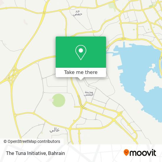 The Tuna Initiative map