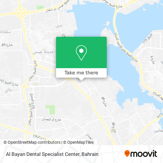 Al Bayan Dental Specialist Center map