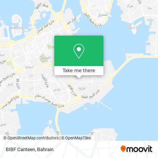 BIBF Canteen map