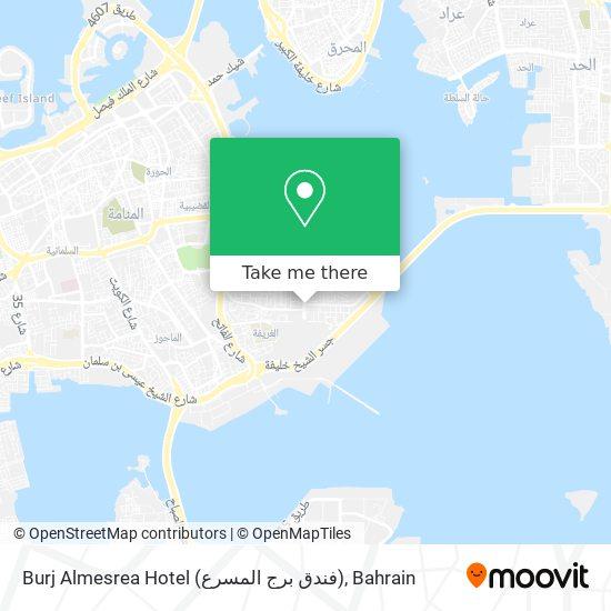 Burj Almesrea Hotel (فندق برج المسرع) map