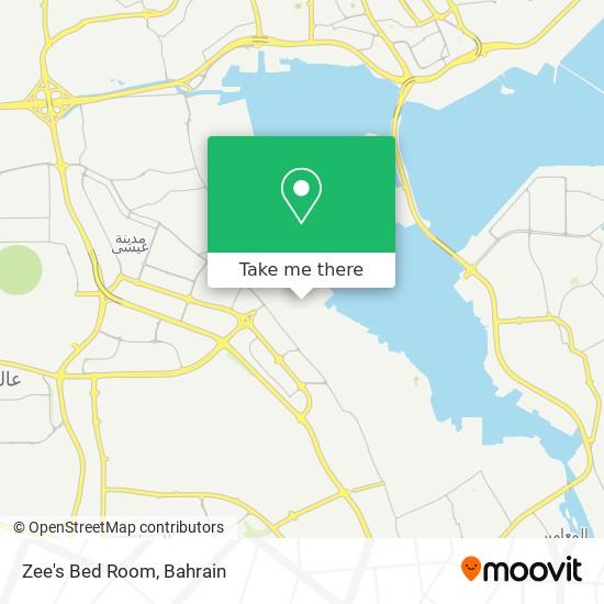 Zee's Bed Room map