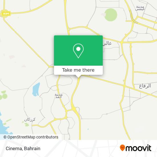 Cinema map
