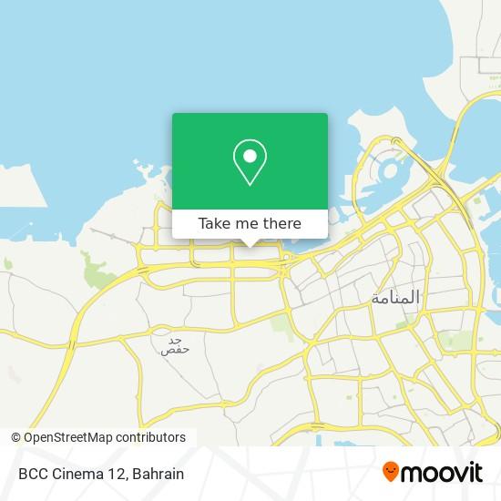BCC Cinema 12 map