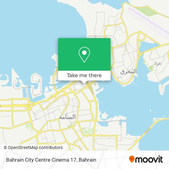 Bahrain City Centre Cinema 17 map