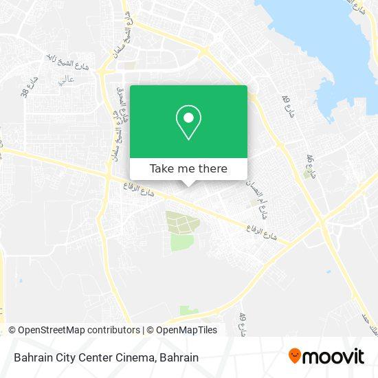 Bahrain City Center Cinema map