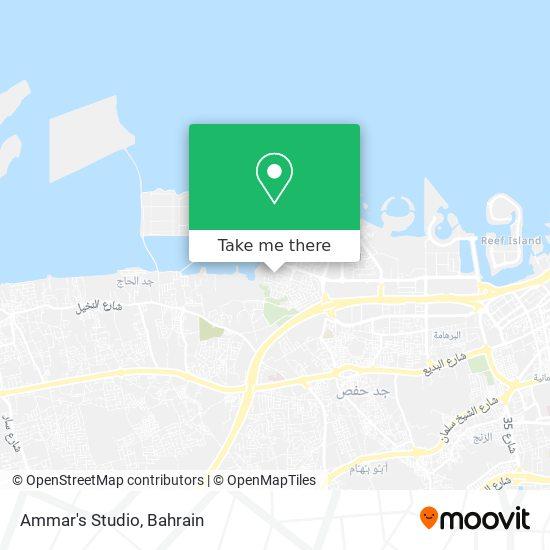Ammar's Studio map