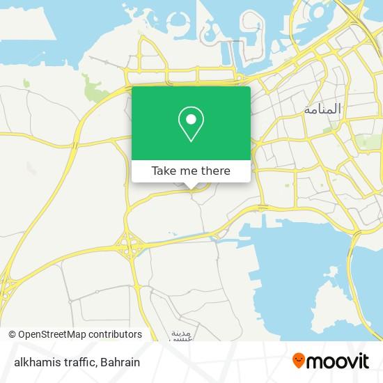 alkhamis traffic map