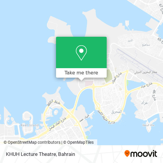 KHUH Lecture Theatre map