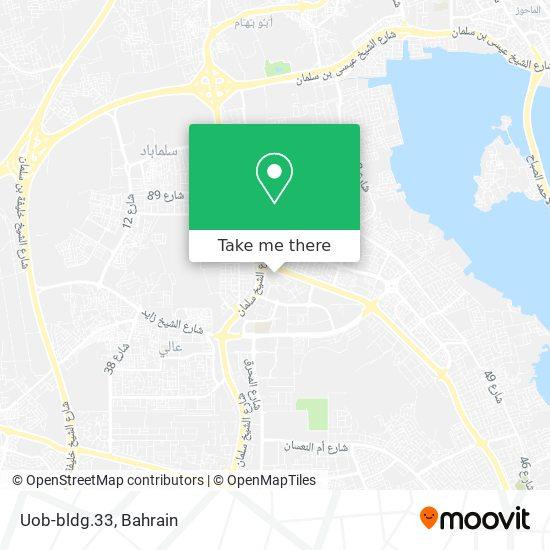 Uob-bldg.33 map
