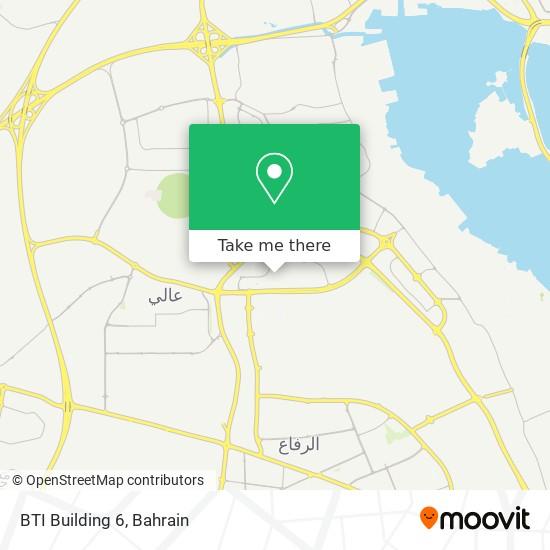 BTI Building 6 map