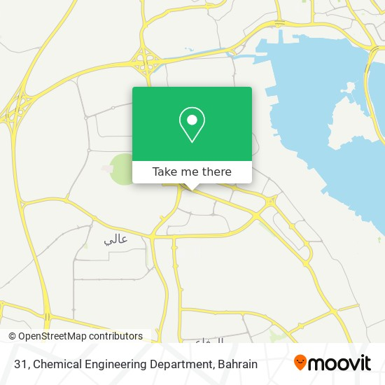 31, Chemical Engineering Department map