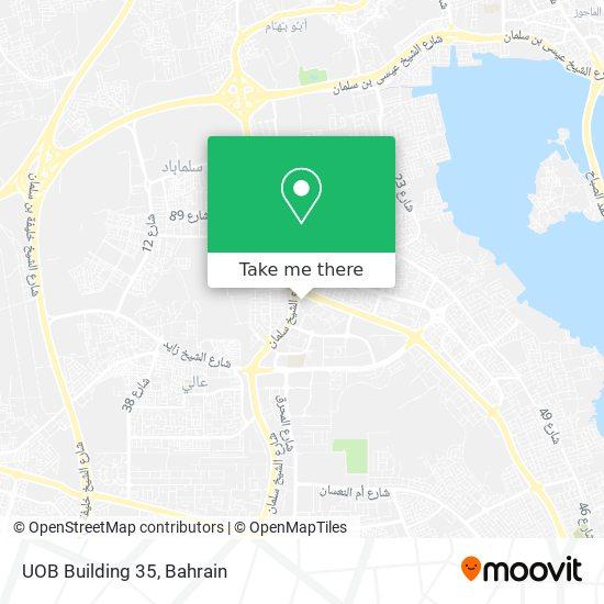 UOB Building 35 map
