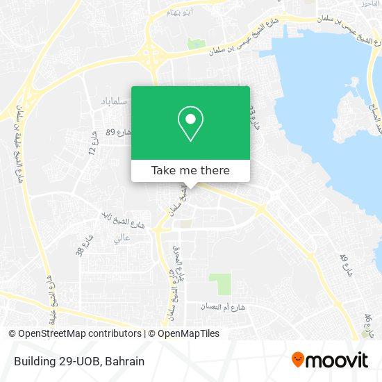 Building 29-UOB map