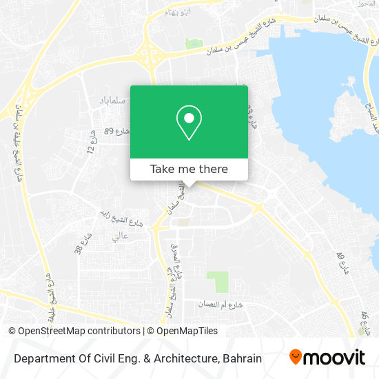 Department Of Civil Eng. & Architecture map