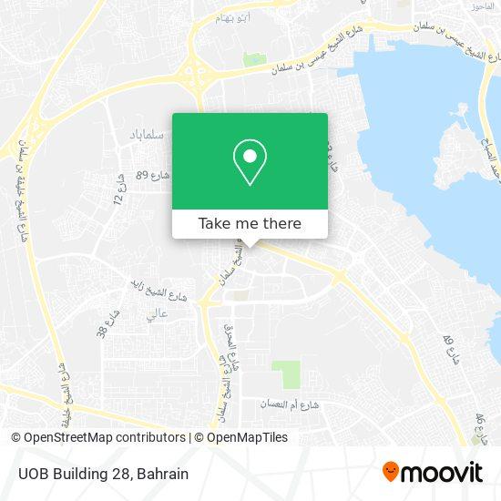UOB Building 28 map