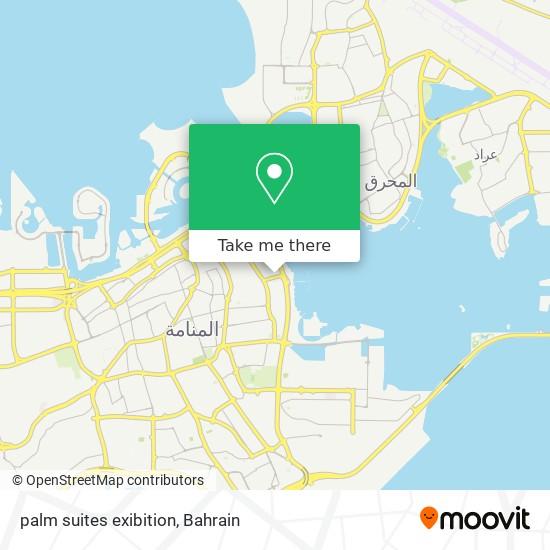 palm suites exibition map