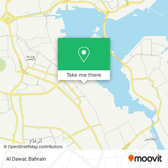 Al Dawar map