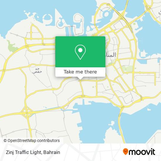 Zinj Traffic Light map