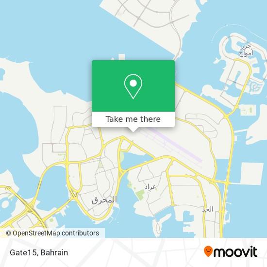 Gate15 map