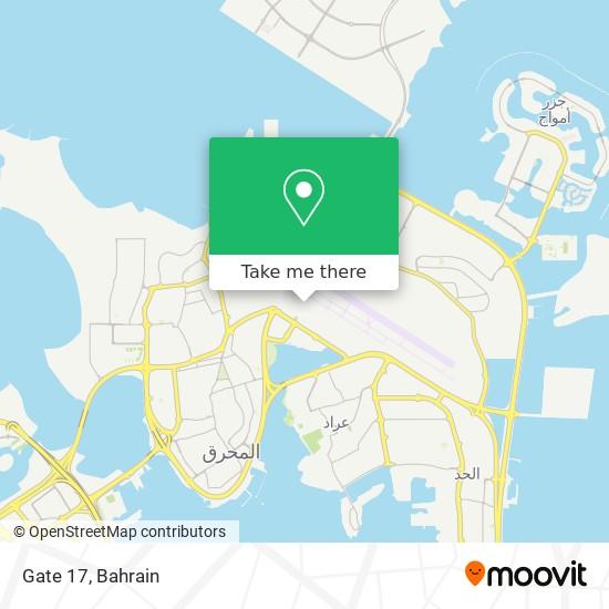 Gate 17 map