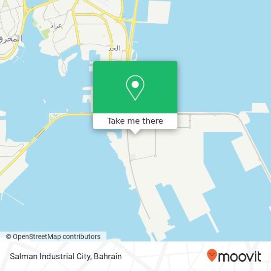 Salman Industrial City map