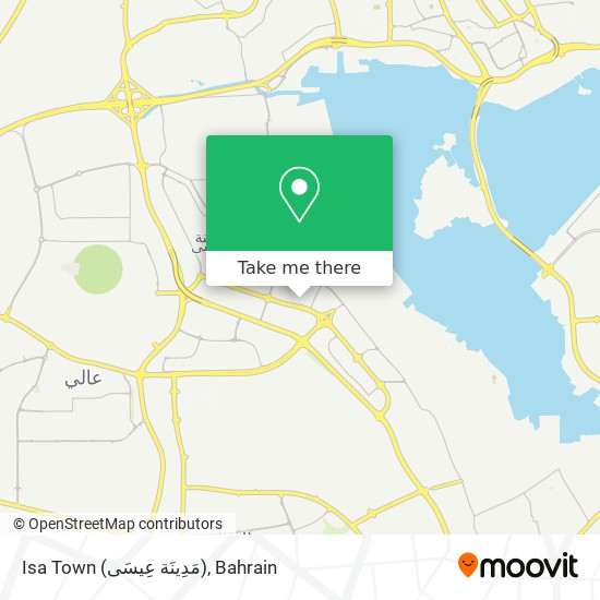Isa Town (مَدِينَة عِيسَى) map