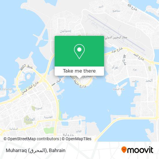 Muharraq (المحرق) map