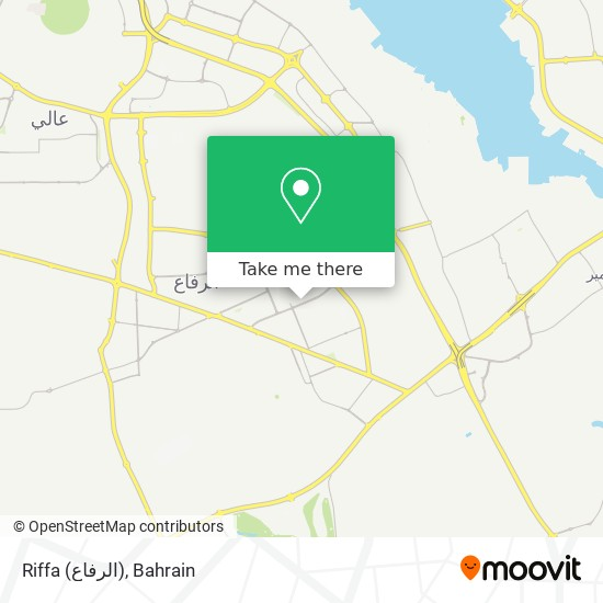 Riffa (الرفاع) map