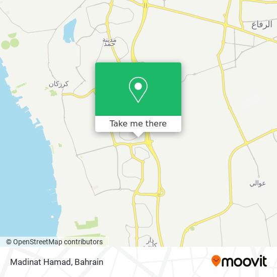 Madinat Hamad map