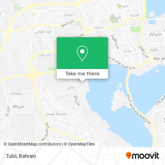 Tubli map