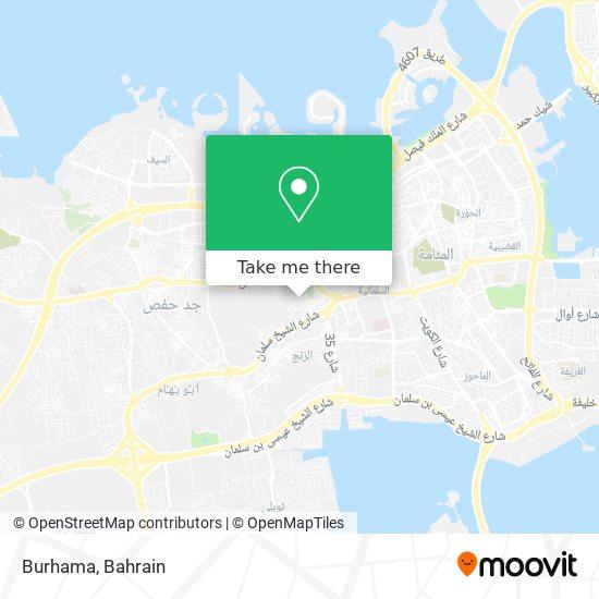 Burhama map
