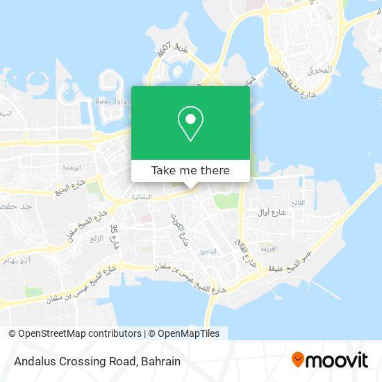 Andalus Crossing Road map