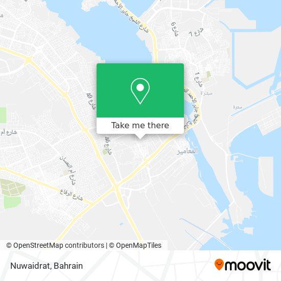 Nuwaidrat map