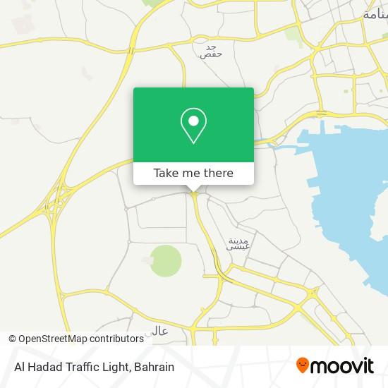 Al Hadad Traffic Light map