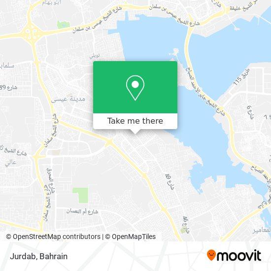 Jurdab map