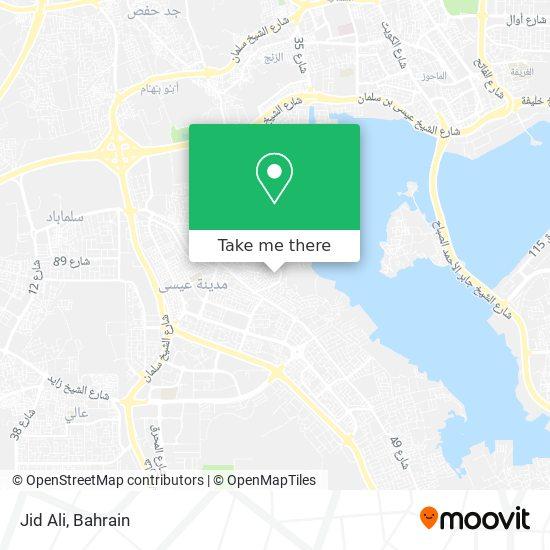 Jid Ali map
