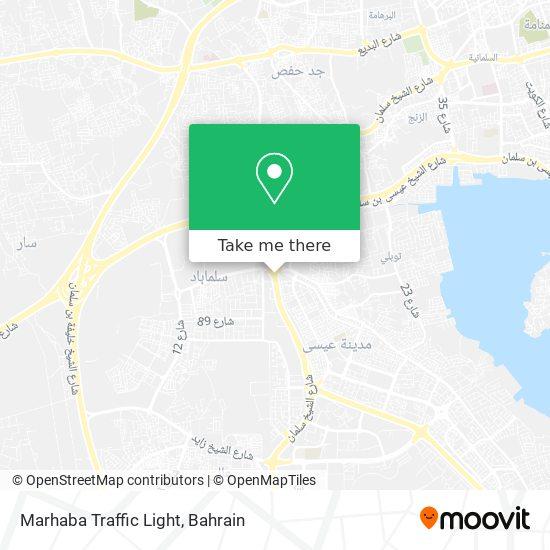Marhaba Traffic Light map