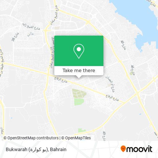 Bukwarah (بو كوارة) map