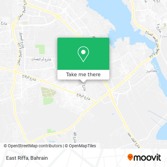 East Riffa map