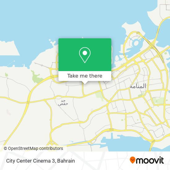 City Center Cinema 3 map