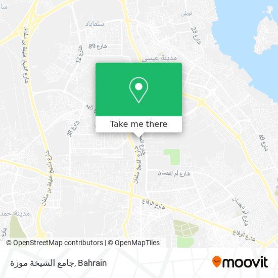 جامع الشيخة موزة map